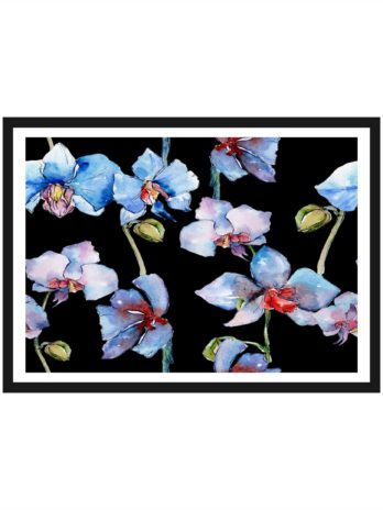 Plakat Orchidee art